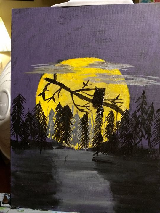 moonlite night - artist23
