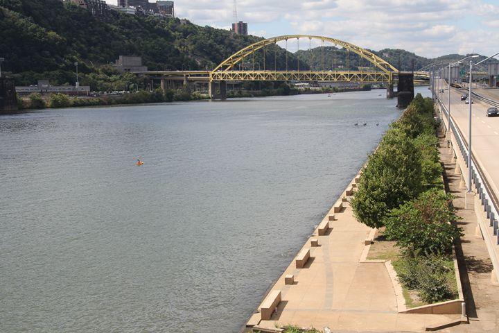 River in Pittsburgh - Brooke: An Aspiring Graphic Designer