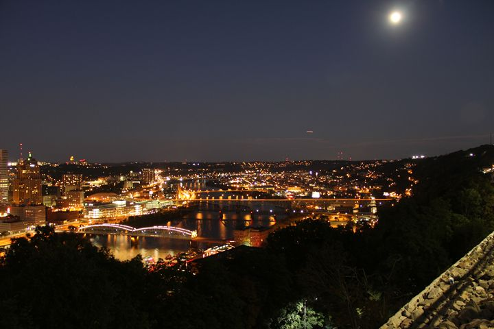 Pittsburgh Skyline at Night:No. 2 - Brooke: An Aspiring Graphic Designer