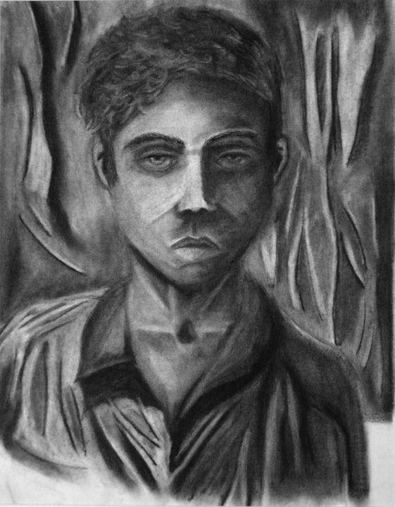 Contrast Self-Portrait - Aaron's Gallery