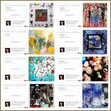 Eight greeting cards