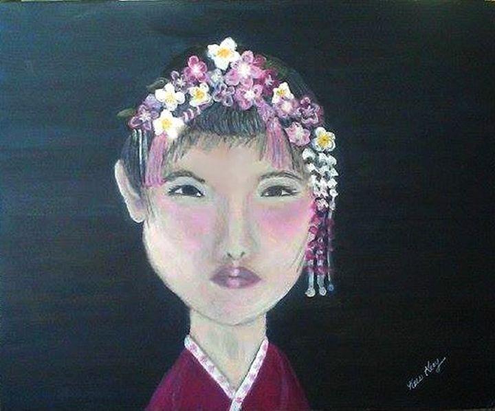 Japanese Spring - Kris Gray Art