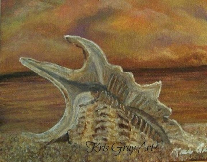 Beauty in the Sand - Kris Gray Art