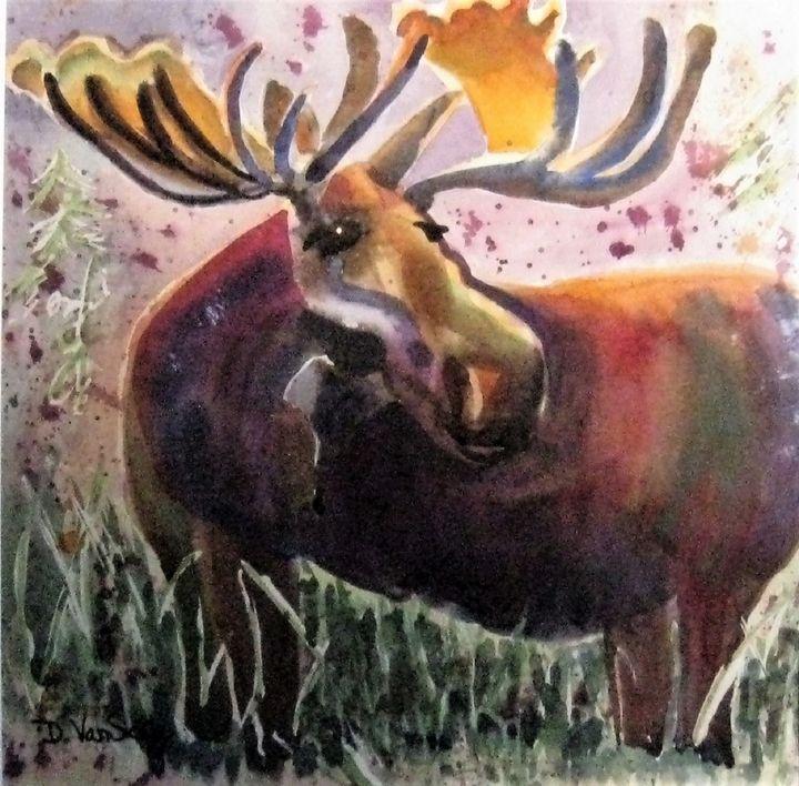 The Moose - Darlene Van Sickle