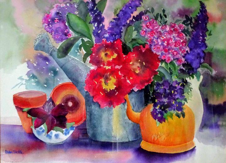 Still Life with Copper Teapot - Darlene Van Sickle
