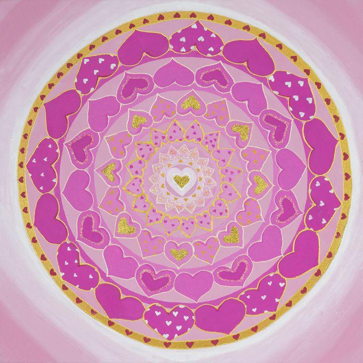 Receptivity Mandala - Healing Mandalas