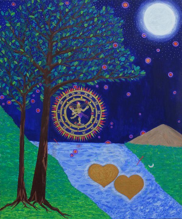 Siva`s Blessing Mandala - Healing Mandalas