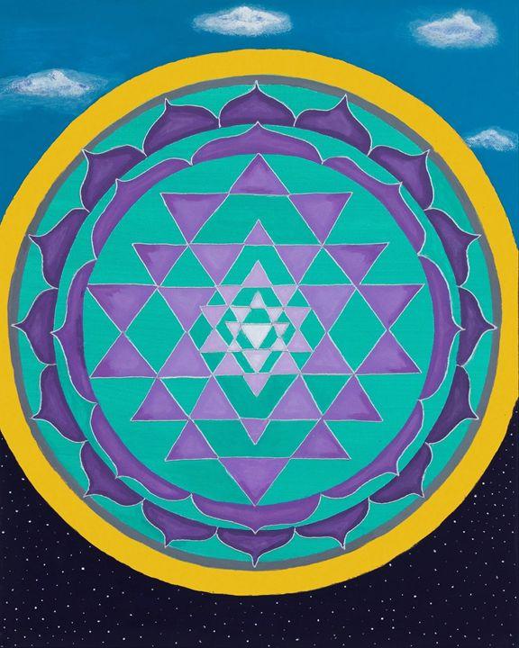 Embracing the light and the dark - Healing Mandalas