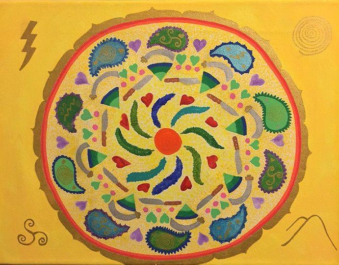 Boundaries and InnerStrength Mandala - Healing Mandalas
