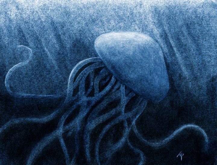 Jellyfish - Terra Rosenberg Art