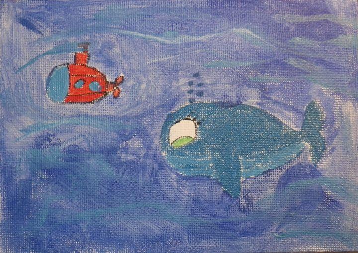 Deep in the sea - ArtAttack