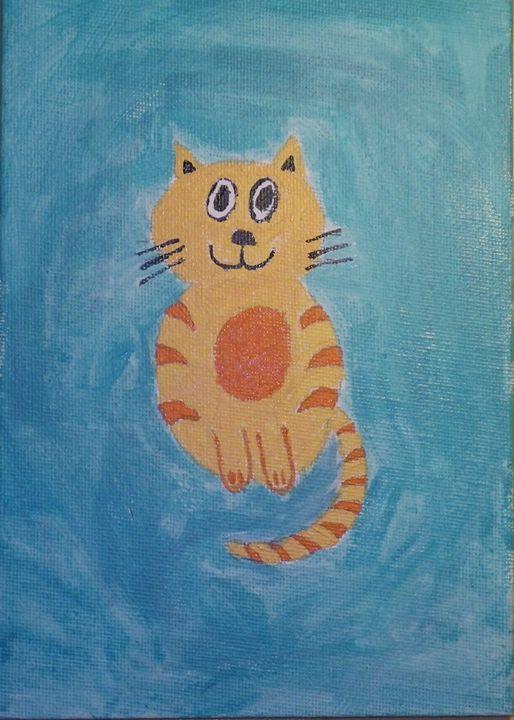 Cozy cat - ArtAttack