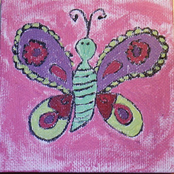 Butterfly Kisses - ArtAttack