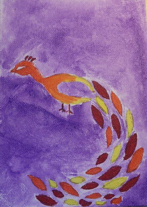 Feather flurry 2 - ArtAttack