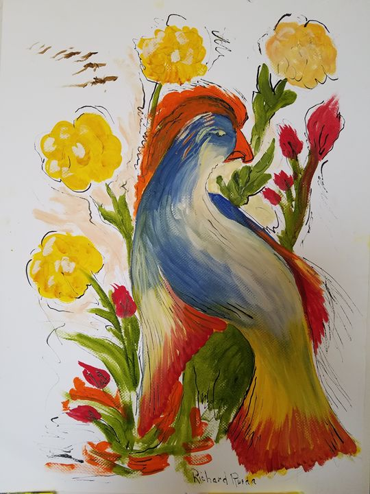 Wild Bird - Richard Rueda Gallery