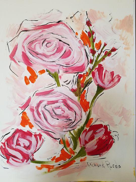 Summer Roses - Richard Rueda Gallery