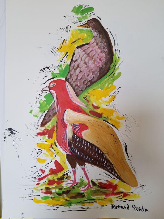 Doves - Richard Rueda Gallery