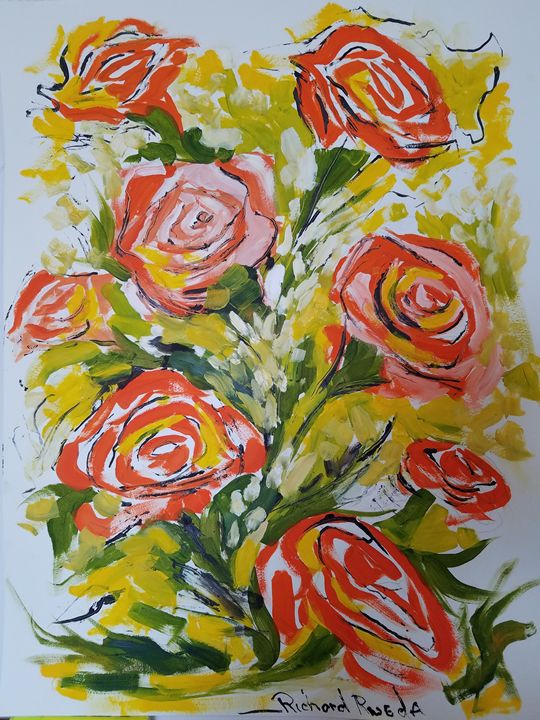 Rose Garden - Richard Rueda Gallery