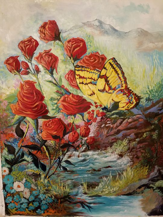 The Butterfly - Richard Rueda Gallery