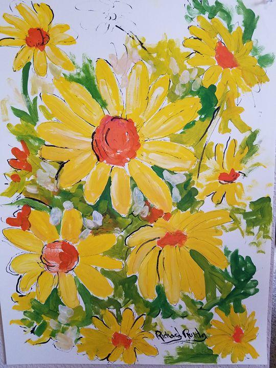 Daisies - Richard Rueda Gallery