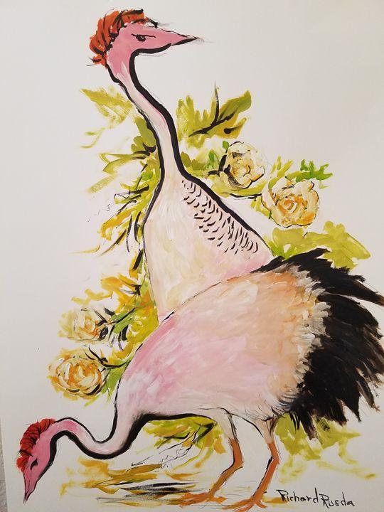Birds - Richard Rueda Gallery