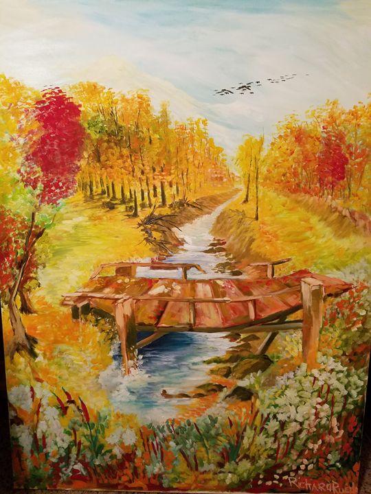 The Bridge - Richard Rueda Gallery