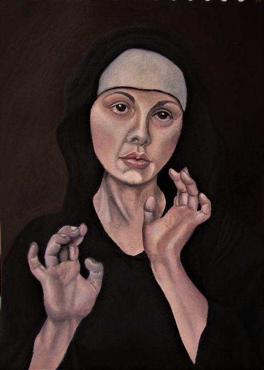 """bonne soeur maniérée - French painter """" Blanchard """""""