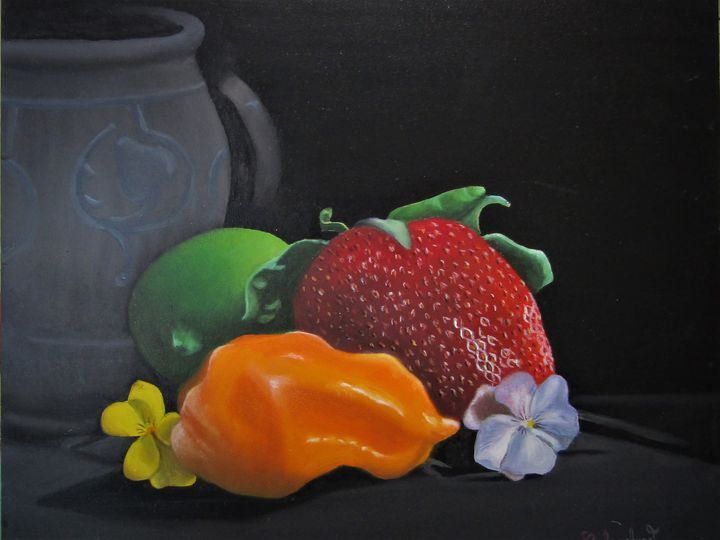 "nature morte - French painter "" Blanchard """