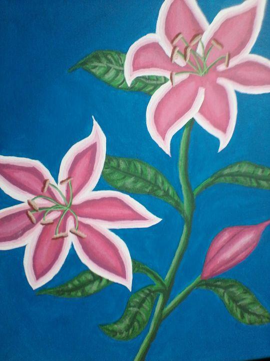Pink Lillies - Tamala Winstead