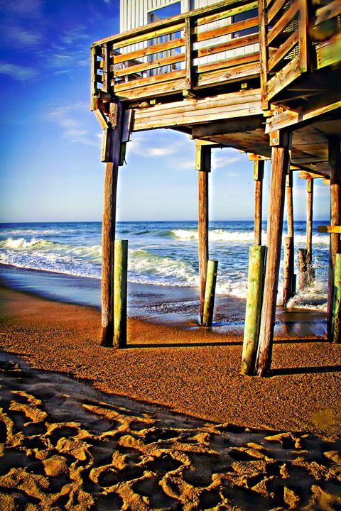 Outer Banks Pier 002 - Patti Needham