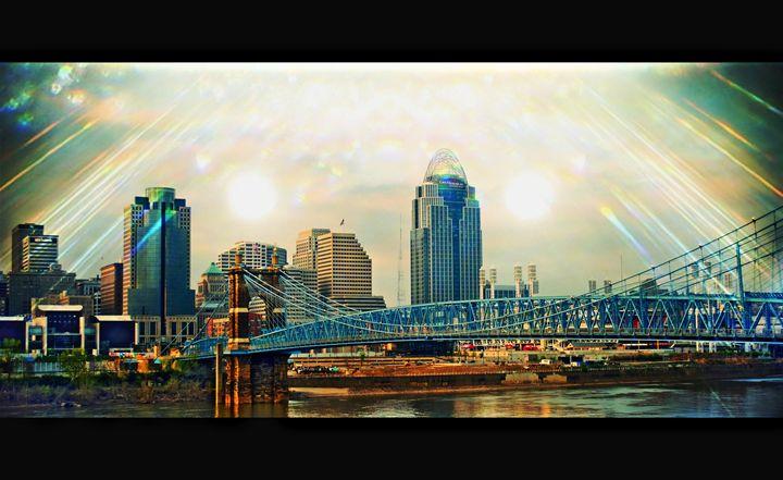 Cincinnati Skyline - Patti Needham