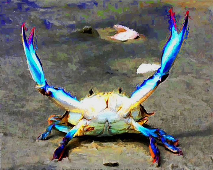 Blue Crab - Patti Needham