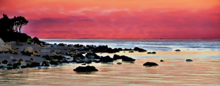 Long Island Sound Sunset - Patti Needham