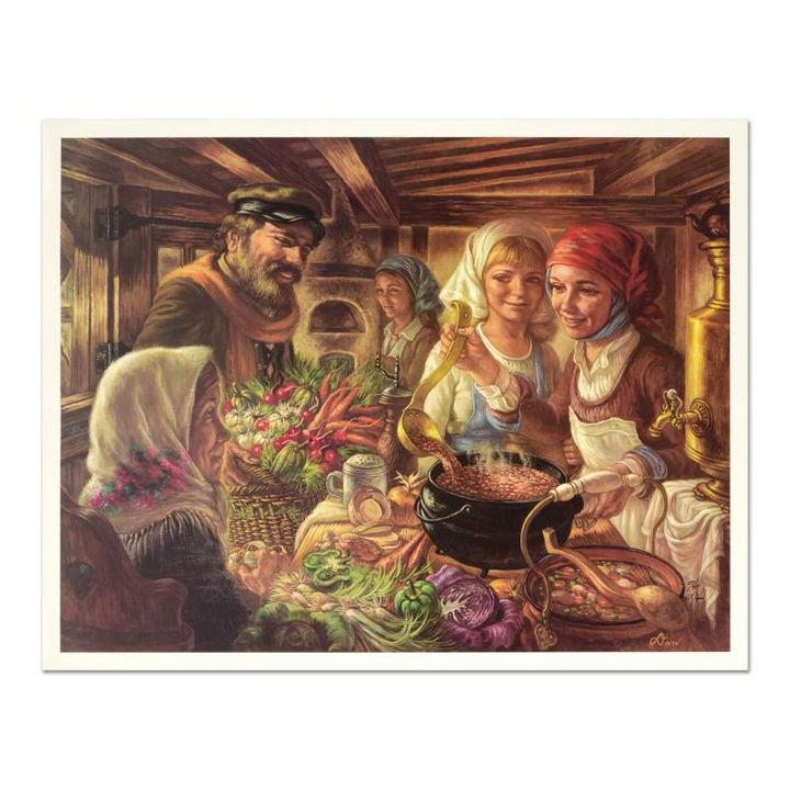 Making of the Cholent - Alexander's Galleries