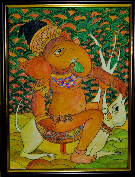 sri ganesh - Sparsha Art Collections