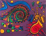 Abstact Original Acrylic Painting