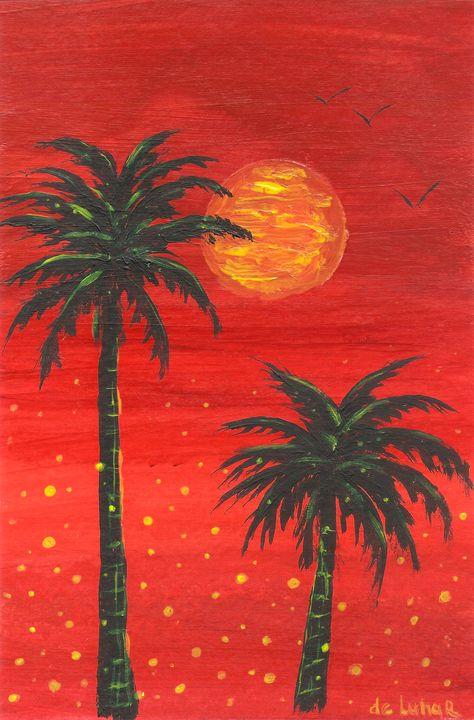 Hot palms - Veronika de Lunar