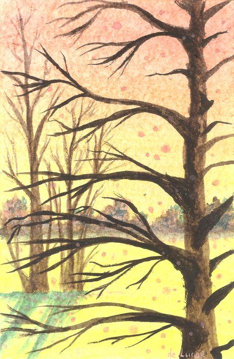 Spring landscape - Veronika de Lunar