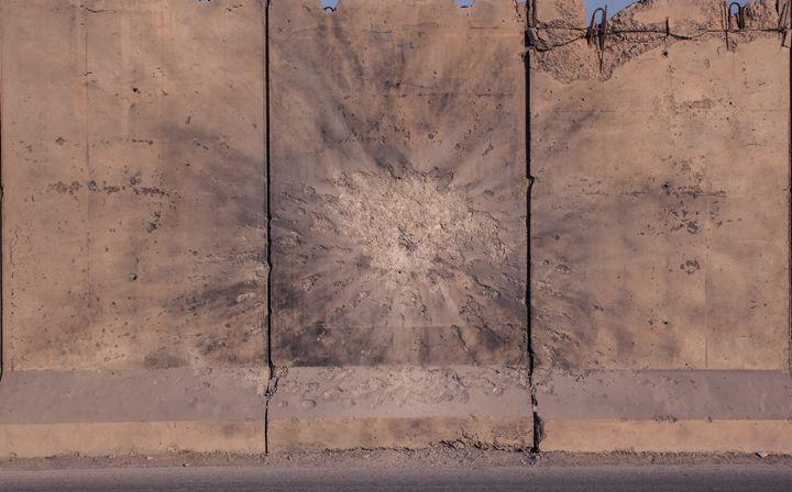 Mortar Round damage - Maren Hannah
