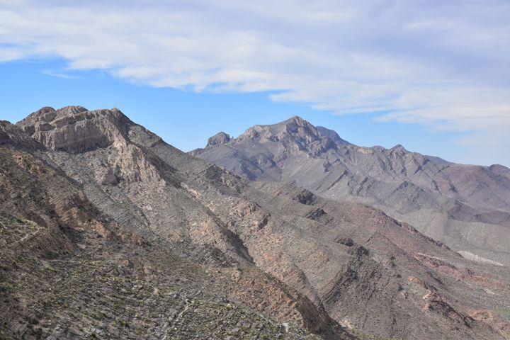 Franklin Mountain Range - Maren Hannah