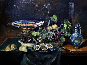 Flemish Still life (interpretation)