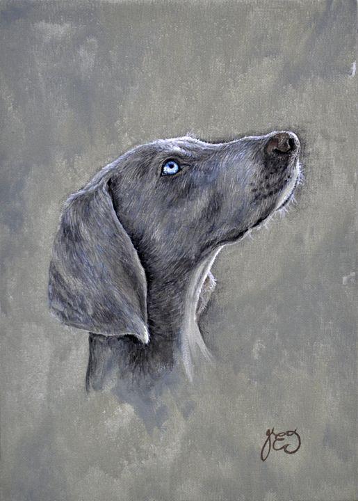 Weimeraner pedigree dog - James Ineson