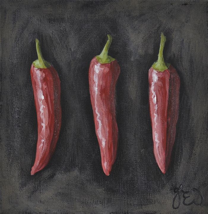 GOURMET CHILLIS - James Ineson
