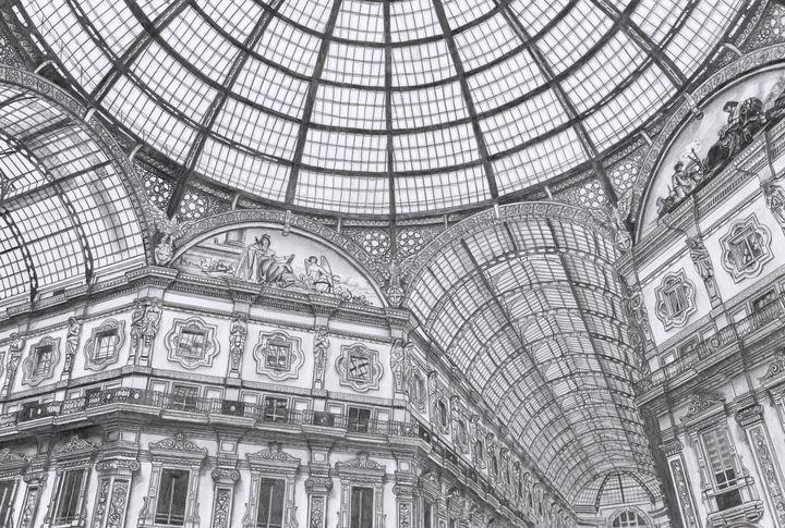 Architecture of Milan - Expressio-art