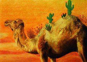 Camel with a Burden