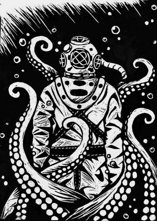 Scuba Diver - Astronomical Molecule