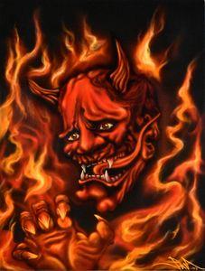Fire Oni