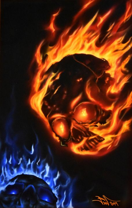 Fire Scull - Pavel Kroupko