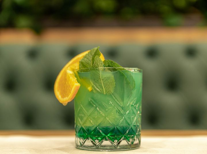 For the love of Green - Cocktail - Jamie Mackrill Photography