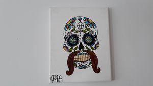 Halloween skull - Affordable oil paintings